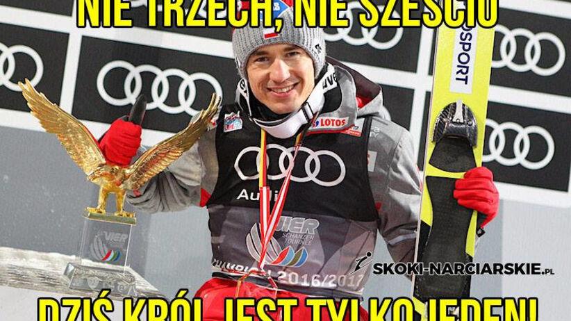 Kamil Stoch, czyli król jest tylko jeden! [MEMY]