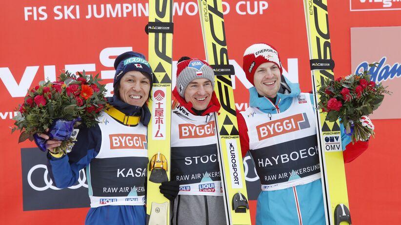 Kamil Stoch, Noriaki Kasai, Michael Hayboeck
