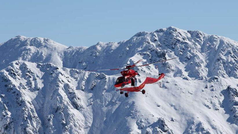 Karakorum. Helikoptery wyleciały po rosyjskiego alpinistę na Latok