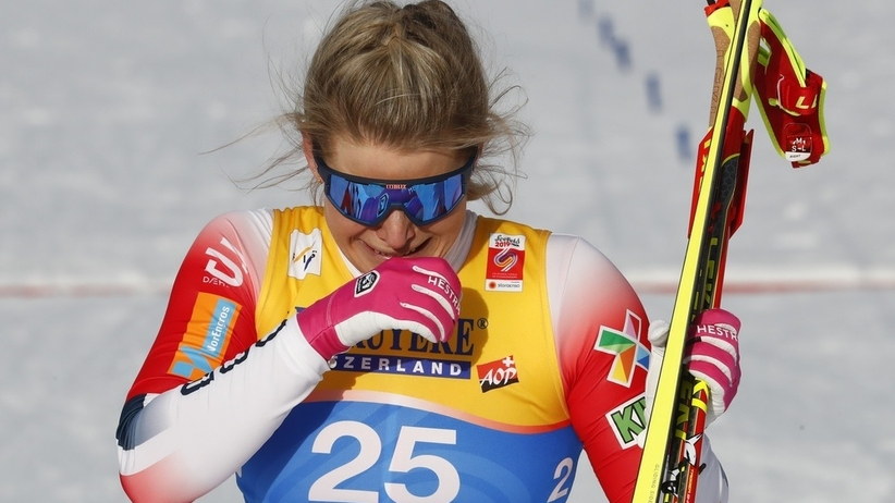 Mari Eide zdobyła brążowy medal MŚ w Seefeld