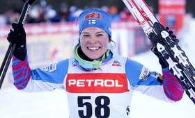 PŚ w biegach: ósme miejsce Kowalczyk, wygrała Parmakoski