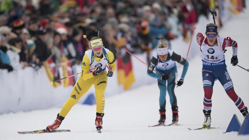 PŚ w biathlonie: Polki piąte w sztafecie, Niemki znowu na czele