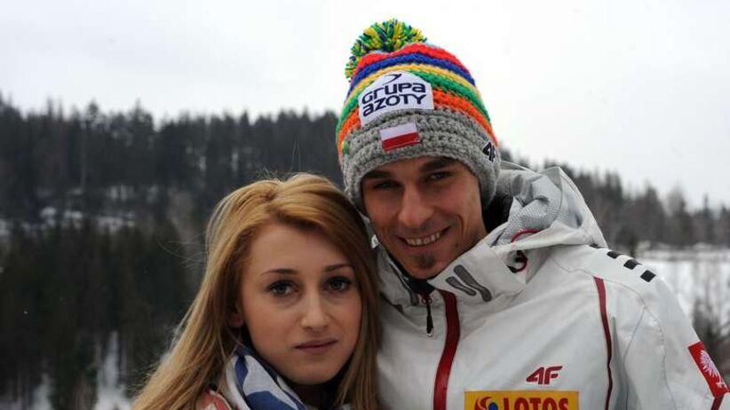 Justyna i Piotr Żyła