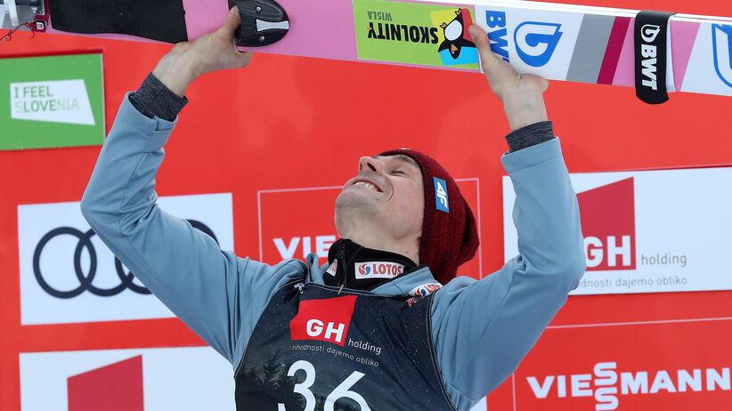 Piotr Żyła skomentował podium w Planicy