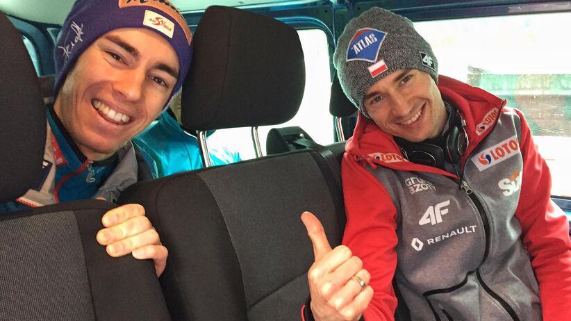 Kamil Stoch i Stefan Kraft