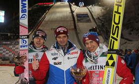 Dawid Kubacki, Stefan Horngacher i Kamil Stoch
