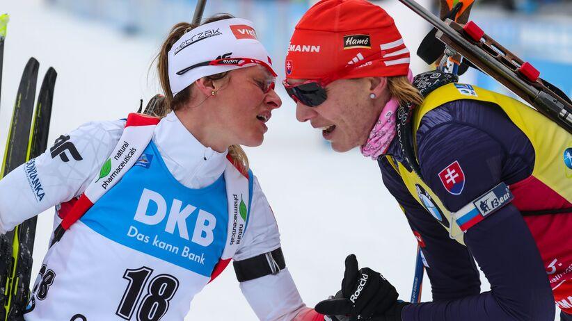 Weronika Nowakowska i Anastazja Kuzmina