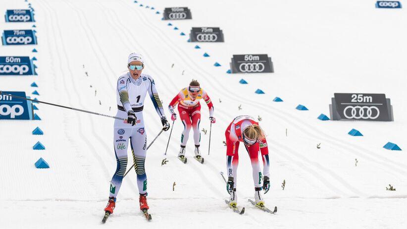 Johaug przegrała z Nilsson w Quebecu