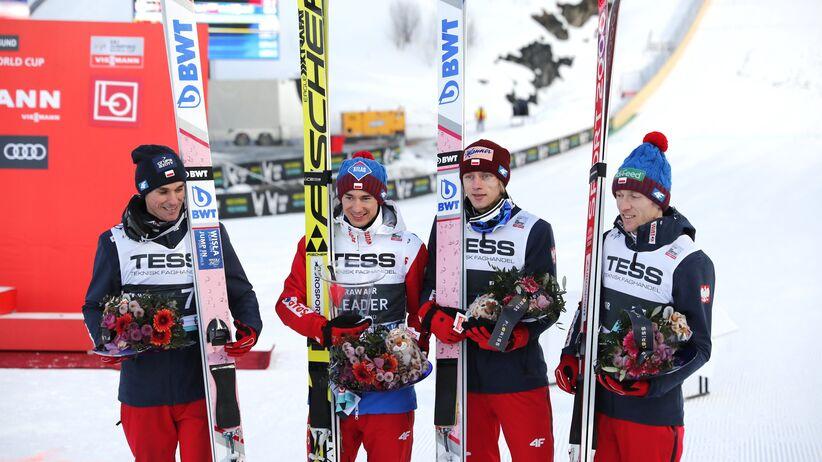 Polscy skoczkowie na podium w Vikersund