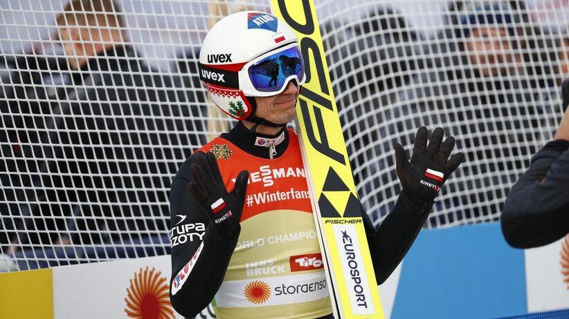 Kamil Stoch skomentował swój słabszy skok w konkursie drużynowym w Oslo