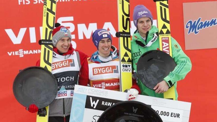 Kamil Stoch, Stefan Kraft, Andreas Wellinger