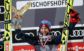 Richard Freitag pogratulował Stochowi wygranej
