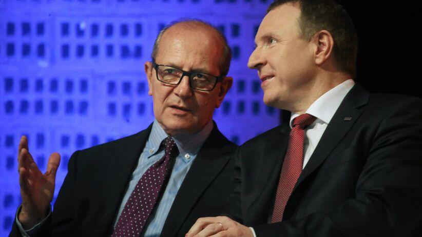 Włodzimierz Szaranowicz i Jacek Kurski