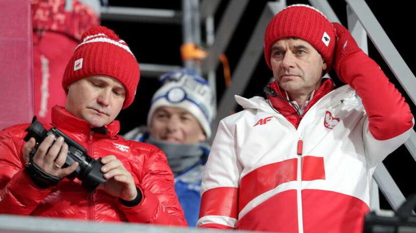 Stefan Horngacher na igrzyskach w Pjongczangu