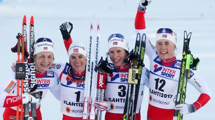 Norweskie biegaczki