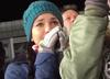 Żona Stefana Huli ogląda skok męża ze łzami w oczach [WIDEO]