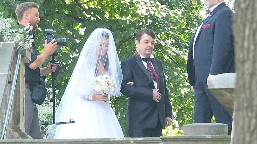 Agnieszka Radwańska z tatą Robertem