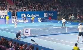 Radwańska i Błaszczykowski zagrali miksta