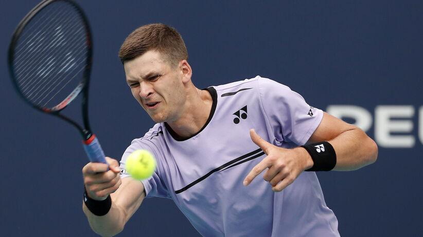 Hubert Hurkacz w drugiej rundzie turnieju ATP w Miami