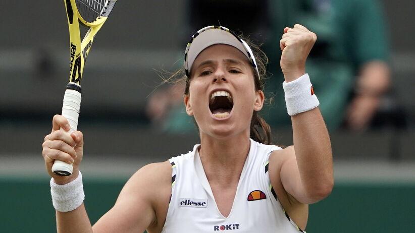 Johanna Konta w ćwierćfinale Wimbledonu 2019
