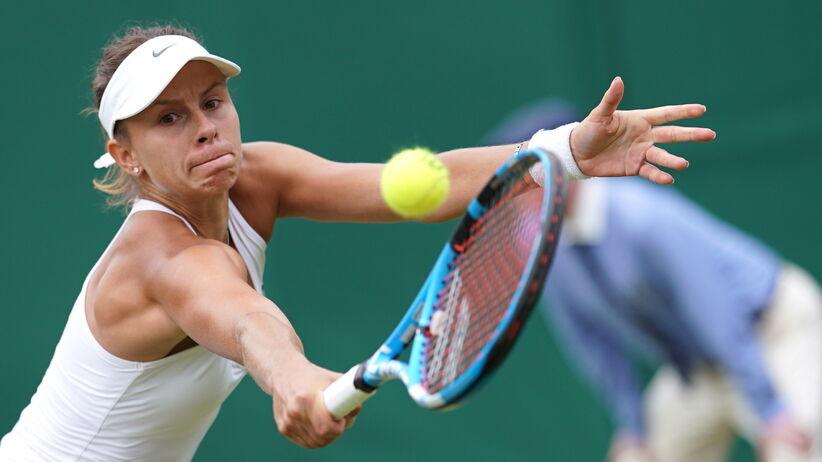 Magda Linette odpadła z Wimbledonu 2019