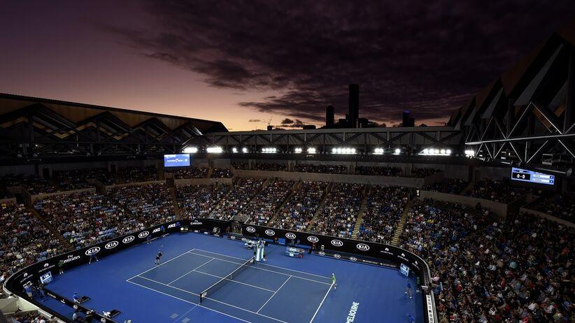 Kort tenisowy Australian Open