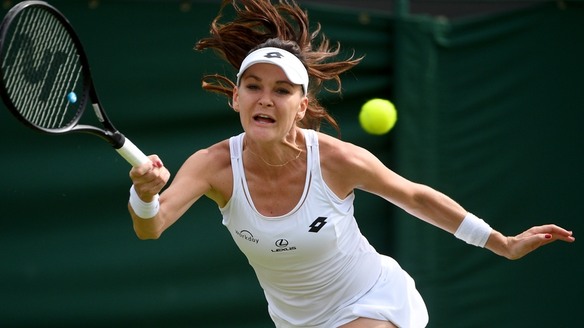 Agnieszka Radwańska Wimbledon 2017