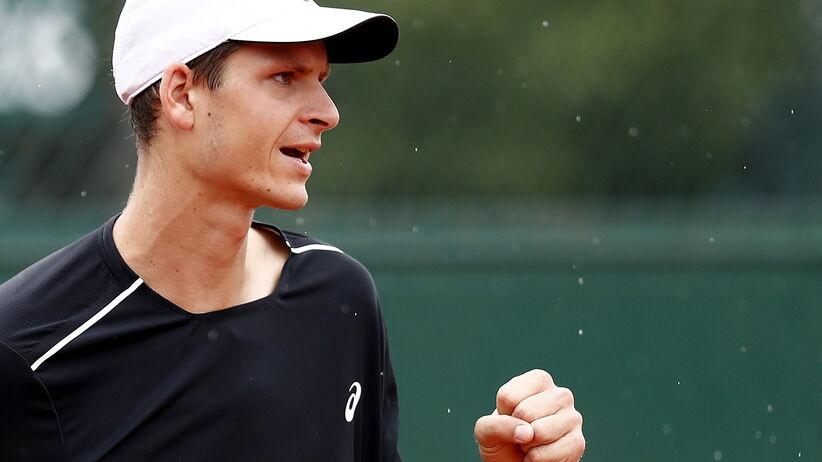Hubert Hurkacz w 2. rundzie French Open
