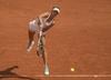 Magda Linette zagra z Zariną Dijas we French Open