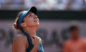 Simona Halep i Sloane Stephens w finale Roland Garros 2018