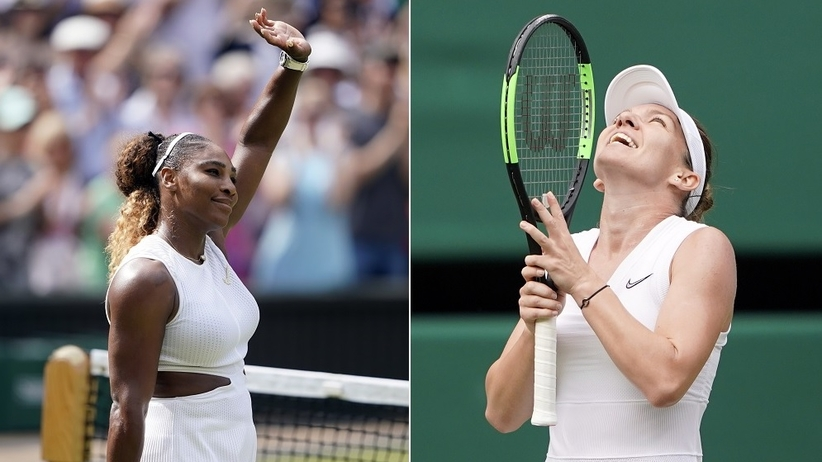 Serena Williams - Simona Halep