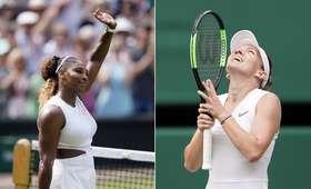 Serena Williams - Simona Halep