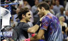 Federer i del Potro