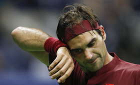 Roger Federer odpadł w 4. rundzie US Open