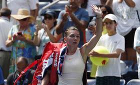 Simona Halep odpadła w 1. rundzie US Open