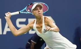 Magda Linette odpadła z US Open
