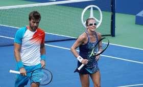 Alicja Rosolska i Nikola Mektić w finale miksta w US Open