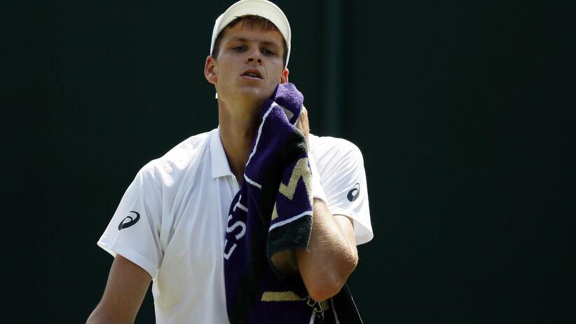 Hubert hurkacz odpadł z Wimbledonu