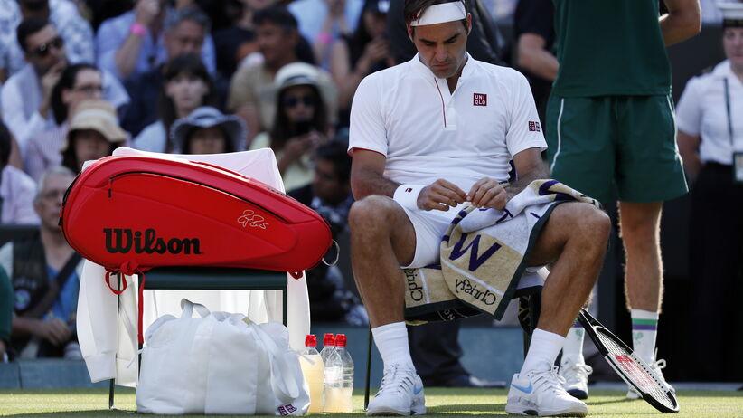 Roger Federer odpadł z Wimbledonu