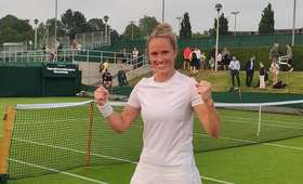 Katarzyna Kawa w finale kwalifikacji Wimbledonu