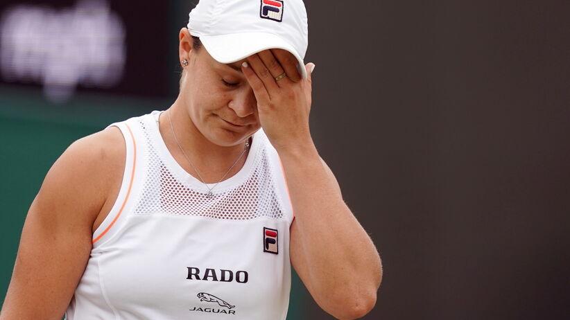 Wimbledon: Liderka światowego rankingu odpadła z turnieju, Riske lepsza od Barty