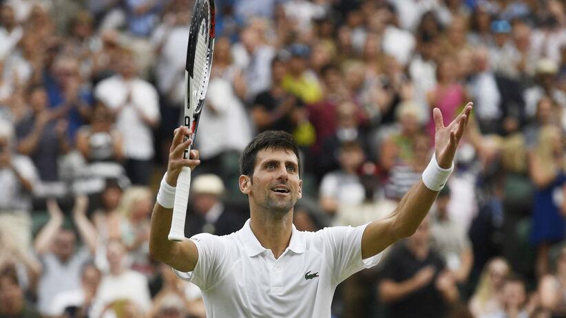 Wimbledon: Djokovic w finale po pięciogodzinnym meczu z Nadalem