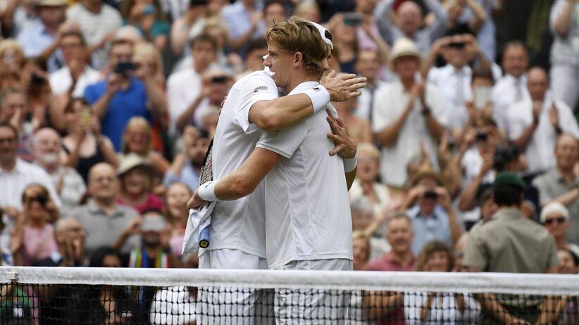 Kevin Anderson pokonał John Isnera w półfinale Wimbledonu