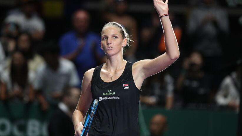 Karolina Pliskova w półfinale WTA Finals
