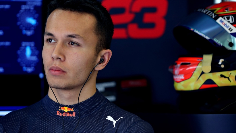 Alex Albon zostaje w Red Bullu na sezon 2020