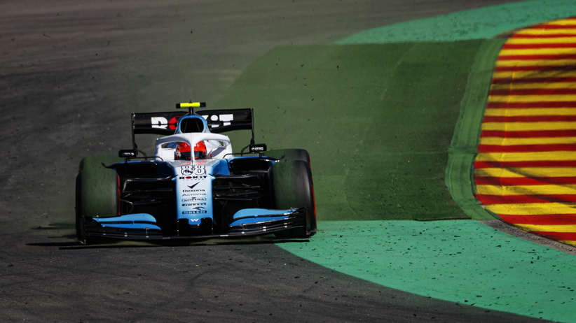 Robert Kubica w GP Belgii