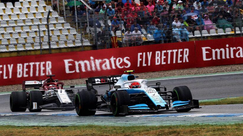 Robert Kubica z punktem GP Niemiec