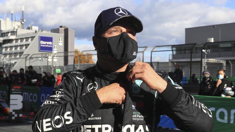 Valtteri Bottas wygrał kwalifikacje przed GP Eifel