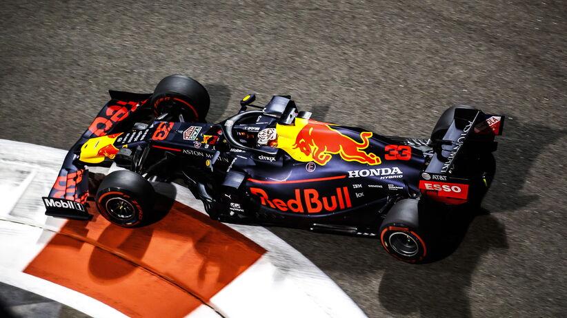 Max Verstappen 3. trening GP Abu Zabi