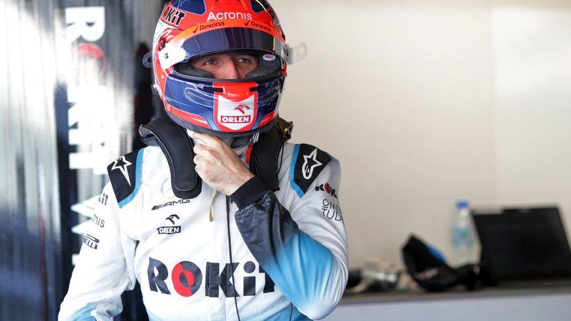 Robert Kubica w GP Abu Zabi